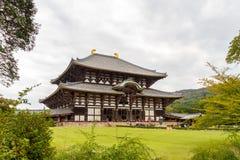 Temple de Todaiji à Nara, Japon Photos stock