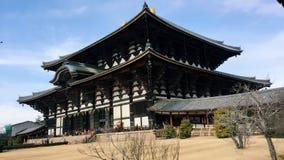 Temple de Todaiji photos libres de droits