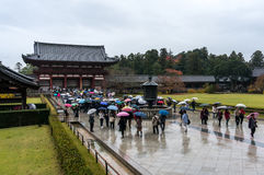 Temple de Todaiji images libres de droits