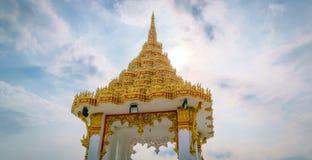 Temple de toit Images libres de droits
