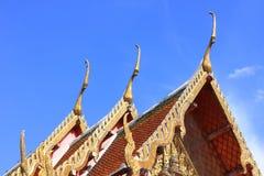 Temple de toit d'église image stock