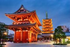 Temple de Tokyo Japon Image stock