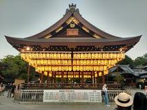 Temple de Tokyo de lanterne photographie stock libre de droits