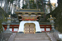 Temple de Toshogu à Nikko image libre de droits