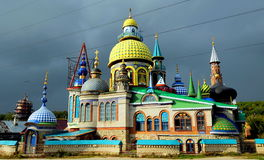 Temple de toutes les religions, Kazan, Russie Photos libres de droits