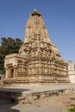 Temple de Vamana à Khajuraho.India. Image libre de droits