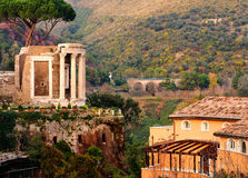 Temple de Vesta, Tivoli Photographie stock