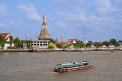 Temple de Wat Arun, Thaïlande Images stock