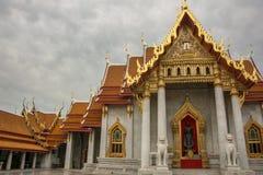 Temple de Wat Benchamabophit à Bangkok, Thaïlande photo stock
