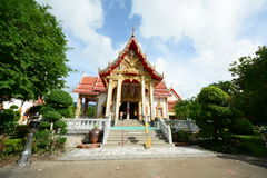 Temple de Wat Chalong Photographie stock