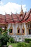 Temple de Wat Chalong Chaithararam Phuket Biggest photographie stock libre de droits