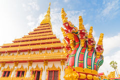 Temple de Wat Nong Wang Images libres de droits