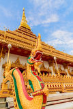 Temple de Wat Nong Wang Photos libres de droits