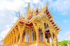 Temple de Wat Pa Saeng Arun Photos stock