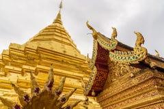 Temple de Wat Phra That Doi Suthep Photographie stock