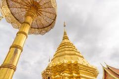 Temple de Wat Phra That Doi Suthep Image stock
