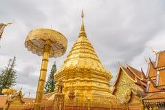 Temple de Wat Phra That Doi Suthep Photographie stock libre de droits