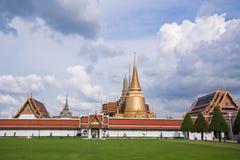 Temple de Wat Phra Kaew Thaïlande Photos libres de droits