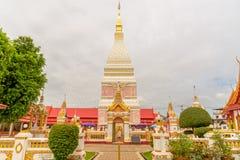 Temple de Wat Phra That Renu Nakhon Image libre de droits