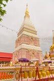 Temple de Wat Phra That Renu Nakhon Images stock