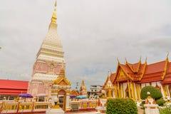 Temple de Wat Phra That Renu Nakhon Photographie stock