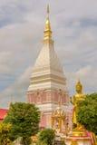 Temple de Wat Phra That Renu Nakhon Images libres de droits