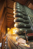 Temple de Wat PO à Bangkok Photos libres de droits