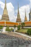 Temple de Wat PO à Bangkok Image libre de droits