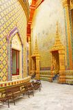 Temple de Wat Rajabopit.The à Bangkok. Photo stock