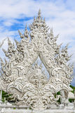 Temple de Wat Rong Khun en Chiang Rai, Thaïlande Photo libre de droits