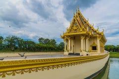 Temple de Wat Sa Prasan Suk Photos libres de droits
