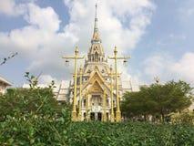 Temple de Wat Sothon Wararam Worawihan Buddhist images libres de droits