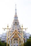 Temple de wat Sothornwararam Photographie stock libre de droits