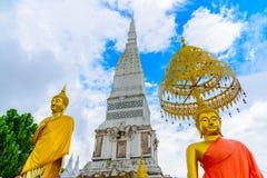 Temple de Wat Tha Uthen Photographie stock libre de droits