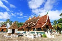 Temple de Wat Xieng Thong Photos libres de droits
