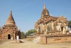 Temple de Winido, Bagan, Myanmar Photographie stock libre de droits