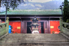 Temple de Wudang Shan Photographie stock libre de droits