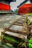 Temple de Wudang Shan Images libres de droits
