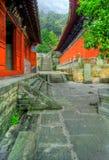 Temple de Wudang Shan   Photo libre de droits