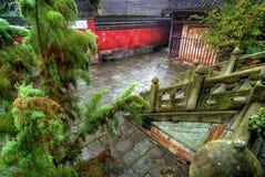 Temple de Wudang Shan photo stock
