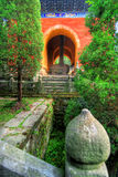 Temple de Wudang Shan en Chine Photo libre de droits