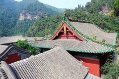 Temple de Xuanzhong Photographie stock libre de droits