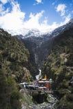 Temple de Yamunotri chez Yamunotri, Himalaya de Garhwal, Uttarkashi DIS Images stock