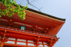 Temple de Yasaka Jinja Image libre de droits