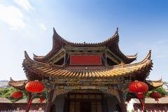Temple de Yuantong Kunming dans le jour ensoleillé, capitale de Kunming de Yu Image stock
