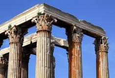 Temple de Zeus olympique Photo libre de droits