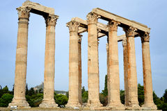 Temple de Zeus olympique Images stock