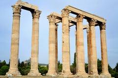 Temple de Zeus olympique Images stock
