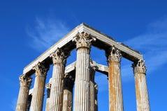 Temple de zeus olympique, Athènes photographie stock