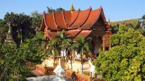 Temple de ZongFo dans XiShuangBanna Photographie stock libre de droits